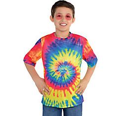 Child 60s Hippie Tie-Dye T-Shirt