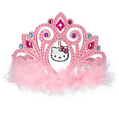 Child Pink Hello Kitty Tiara