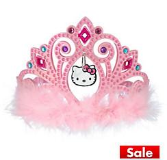 Child Pink Hello Kitty Tiara
