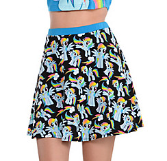 Rainbow Dash Skirt - My Little Pony