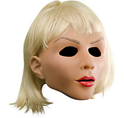 Blonde & Beautiful Woman Mask