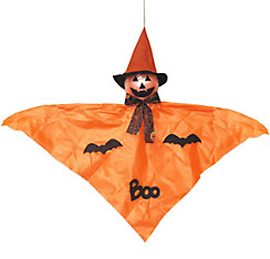 Medium Hanging Friendly Jack-o'-Lantern