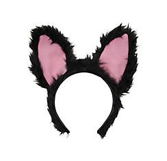 Animated Black Cat Ears Headband