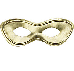 Gold Domino Mask
