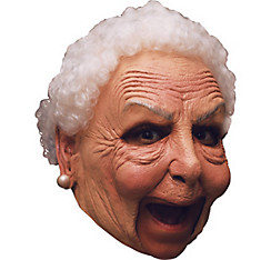 Grandma Old Lady Mask Deluxe