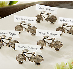 Quick Shop Bicycle Place Card Holders