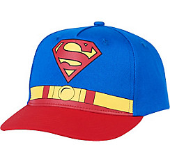 Child Belt & Logo Superman Baseball Hat