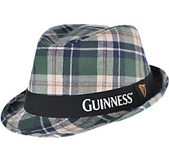 Plaid Guinness Fedora