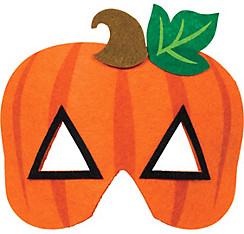 Child Jack-o'-Lantern Mask