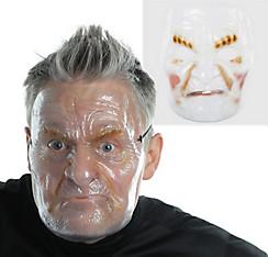 Angry Old Man Mask