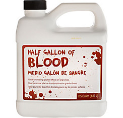 Half Gallon of Fake Blood