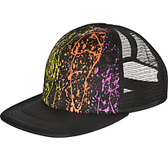 Black Light Neon Baseball Hat