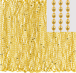 Gold Bead Necklaces 24ct