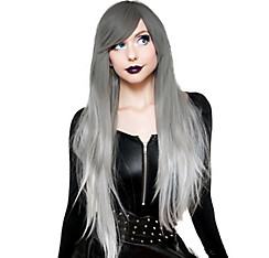 Silver White Ombre Cosplay Wig