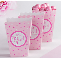 Baby Shower Favor Boxes Bags Containers