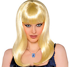 Classic Beauty Long Blonde Wig