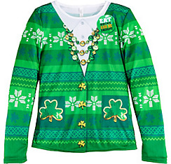 St. Patrick's Day Long-Sleeve Shirt