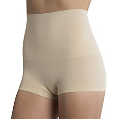 Nude Smoothing Control Top Boyshorts