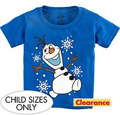 Child Blue Olaf T-Shirt - Frozen