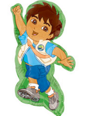 Foil Supershape Go, Diego, Go! Balloon 33in
