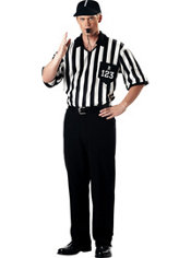 Adult Classic Referee Costume