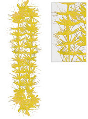 Yellow Tinsel Lei