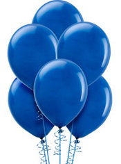 Royal Blue Latex Balloons 12in 72ct