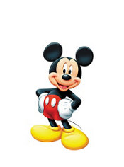 Mickey Mouse Life Size Cardboard Cutout 42in