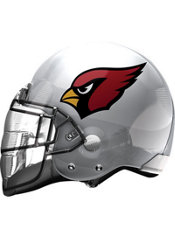 Arizona Cardinals Helmet Balloon 26in