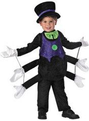 Toddler Boys Itsy Bitsy Spider Costume
