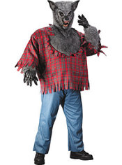 Adult Werewolf Costume Plus Size