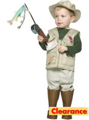 Boys Fisherman Costume