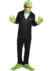 Adult Kermit the Frog Costume - The Muppets
