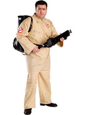 Adult Ghostbusters Costume Plus Size