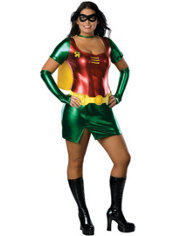 Adult Sexy Robin Costume Plus Size