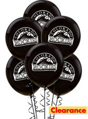 Colorado Rockies Balloons 6ct