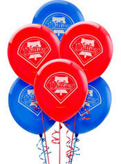 Philadelphia Phillies Balloons 6ct