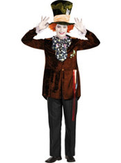 Adult Mad Hatter Costume Deluxe - Tim Burton's Alice in Wonderland
