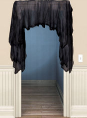 Haunted Black Gauze Value Pack 60in