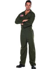 Adult Air Force Jumpsuit Costume