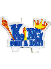 King For A Day Candle