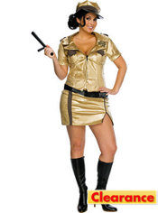 Adult Deputy Johnson Costume Plus Size - Reno 911