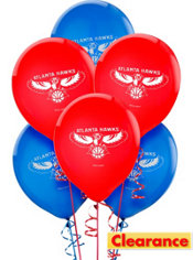 Atlanta Hawks Balloon 6ct