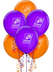 Phoenix Suns Latex Balloon 12in 6ct