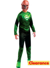 Teen Boys Kilowog Costume - Green Lantern