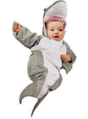 Baby Great White Shark Costume Baby Bunting