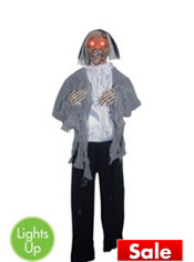 Standing Groom Zombie Prop 5ft