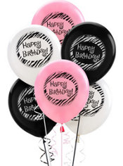 Happy Birthday Balloons 15ct - Another Year of Fabulous