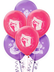Latex Tangled Balloons 12in 6ct