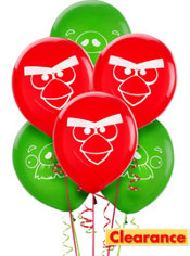 Angry Birds Balloons 6ct